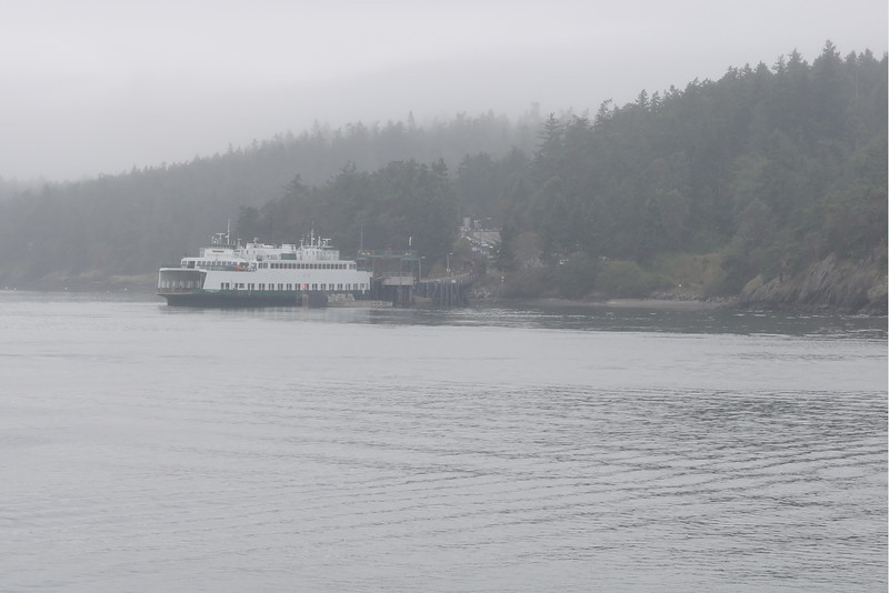 Lopez  Island Ferry Dock